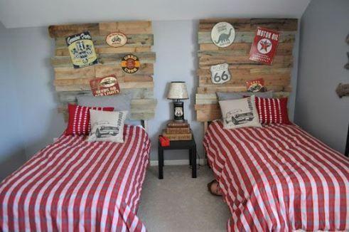 Muebles con palets para ni os camas de palets - Camas con palets ...