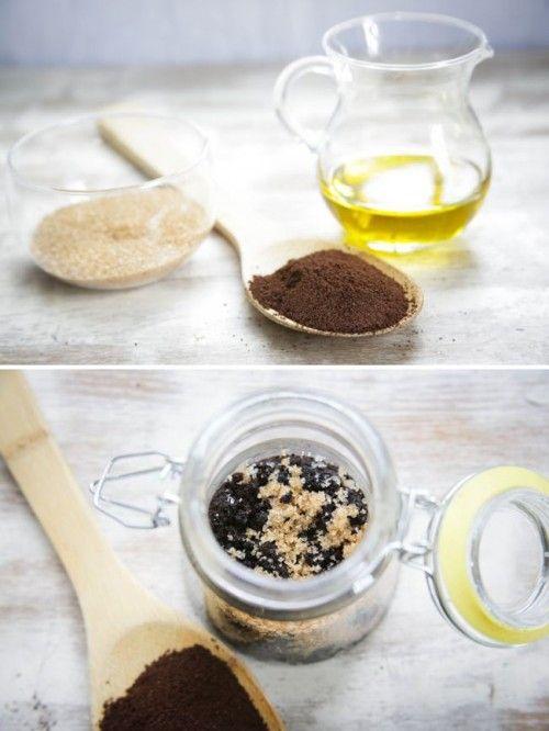 DIY Coffee Scrub To Get Rid Of Cellulite !!