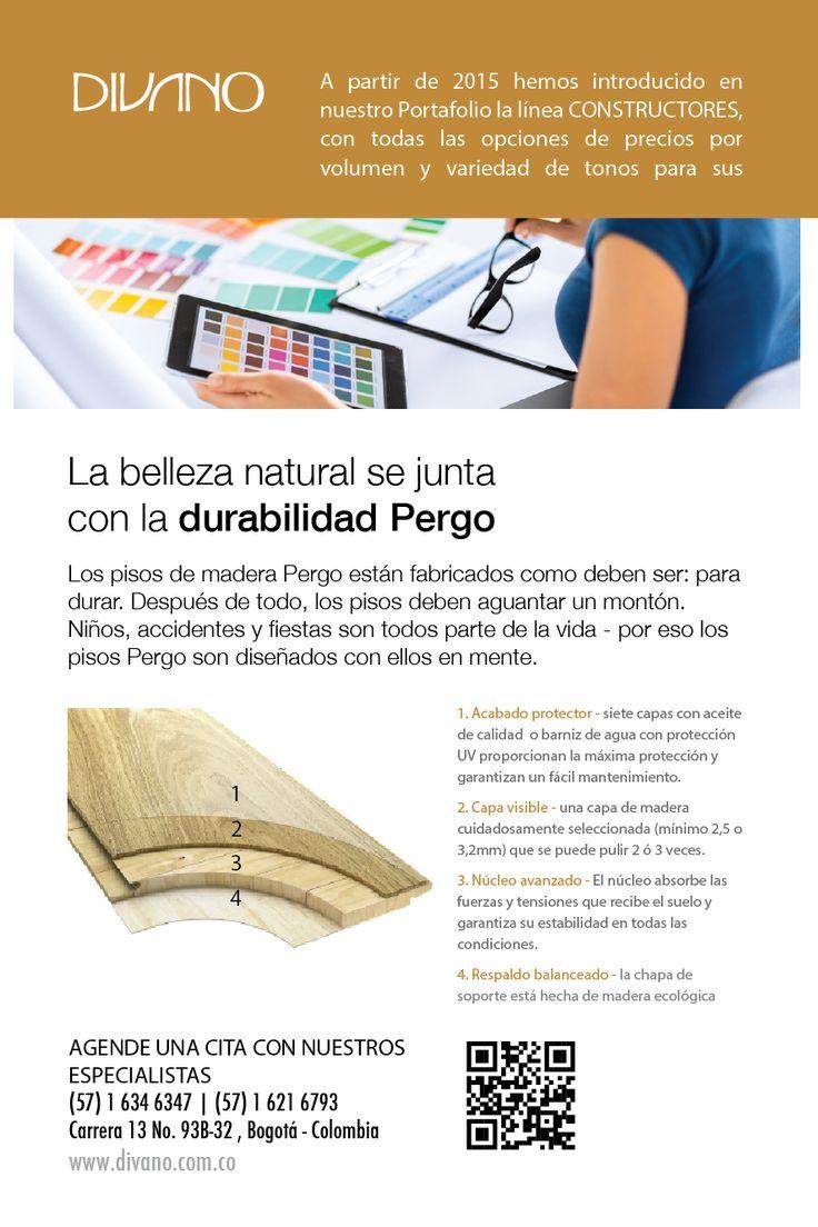 PERGO Wood Parquet: La belleza natural se junta con la durabilidad PERGO.
