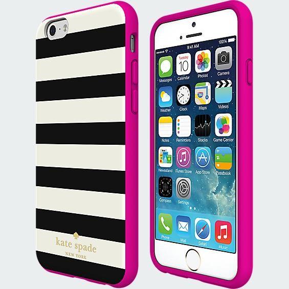 kate spade new york Flexible Hardshell Case for iPhone 6 - Candy Stripe   Verizon Wireless - Verizon Wireless
