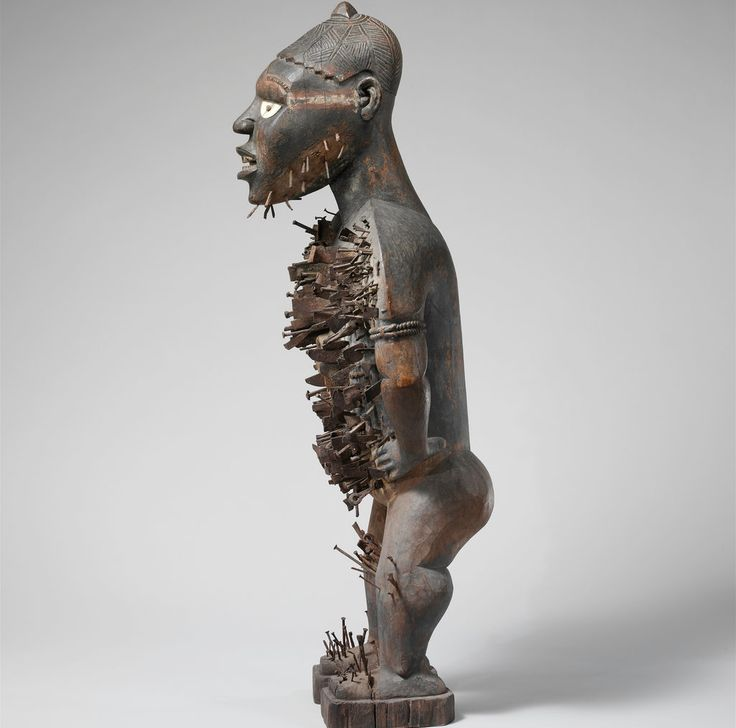 Kongo chiefs commissioned artworks like this one to fight back against 19th-century colonialism.