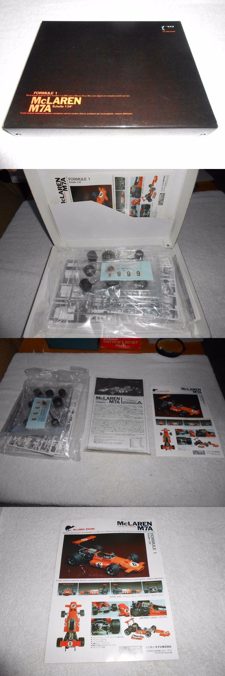 Vintage 2585 mclaren m7a formula 1 union model co professional 1 24 scale model