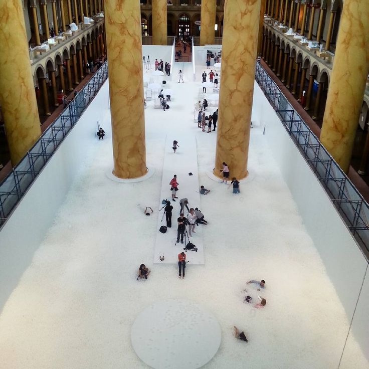 The Beach - National Building Museum (Washington DC) - powered by Snarkitecture