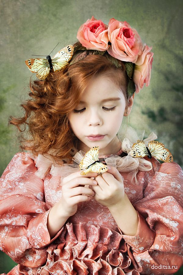 My girl a butterfly~~~