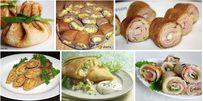 Каталог Рецептов - Сайт coo-king! 15  Вкуснейших НАЧИНОК для БЛИНЧИКОВ 1. Блинчики с начинкой из яиц 2. Творожная начинка в блинчики 3. Куриная: блинчики с курицей