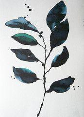 Køb Eucalyptus print af Helene Blanche hos Stilleben – Stilleben - køb design, keramik, smykker, tekstiler og grafik