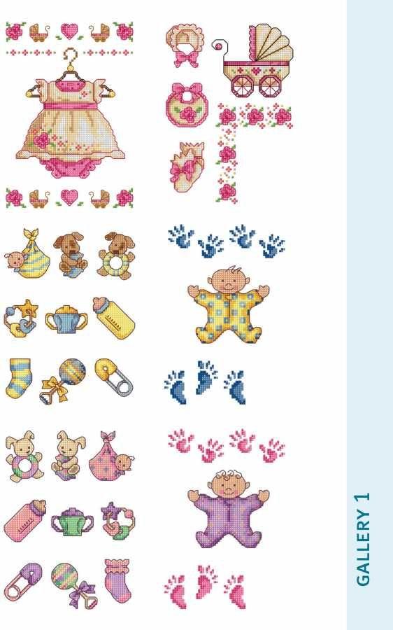 5600 Kanaviçe Motif Serisi 2 Bebek ve Çocuk