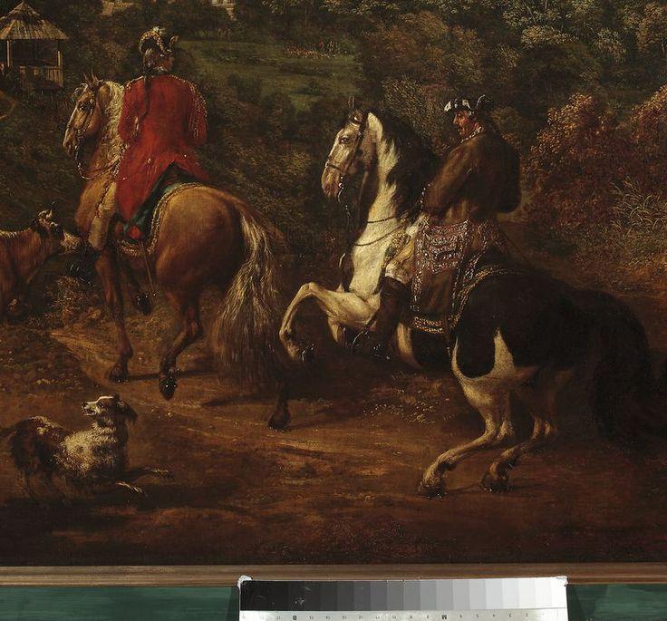 Bellotto, Bernardo, dit Canaletto (1721-1780) View of Lazenki, Warszawa, Muzeum Narodowe