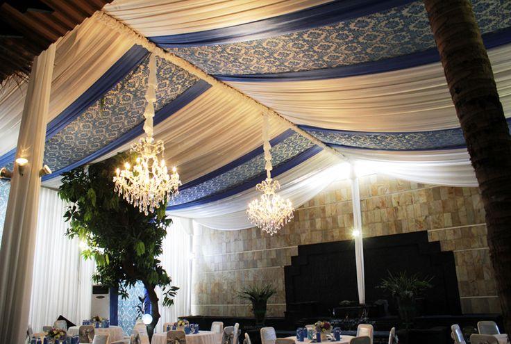 Dekorasi tenda & kain side wall