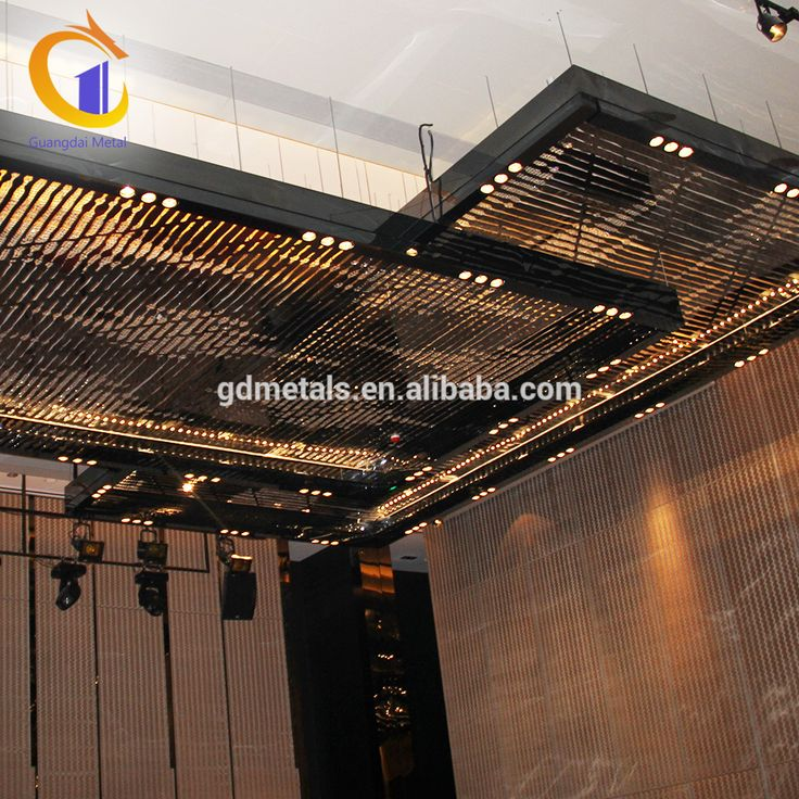 Low Cost Luxury Restaurant Stainless Steel Hanging Decors