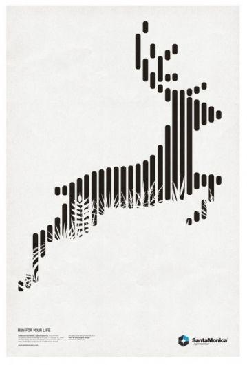 再チャレンジしたい手法 Run For your Life l 25 Beautiful and modern poster designs for your inspiration
