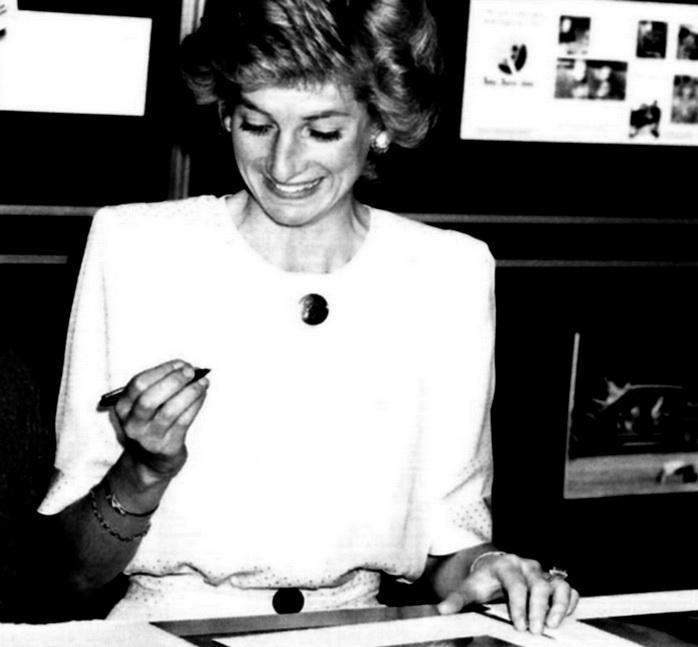 June 12 1989 Diana launched Hertfordshire County Council's infant care seat  hire scheme at an ante-natal clinic at the Queen Elizabeth II Hospital, Welwyn Garden City, Hertfordshire