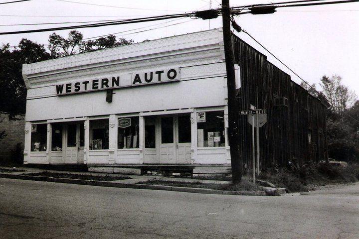 Western Auto Store Back In The Day Springville Al