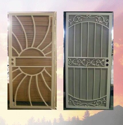 165 best images about grisham steel security doors bars on pinterest iron doors home depot - Iron security doors home depot ...