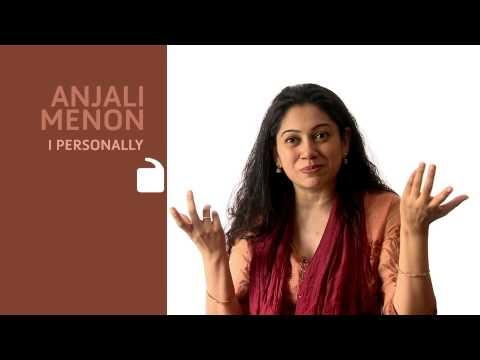 I Personally featuring Anjali Menon (Part 2)