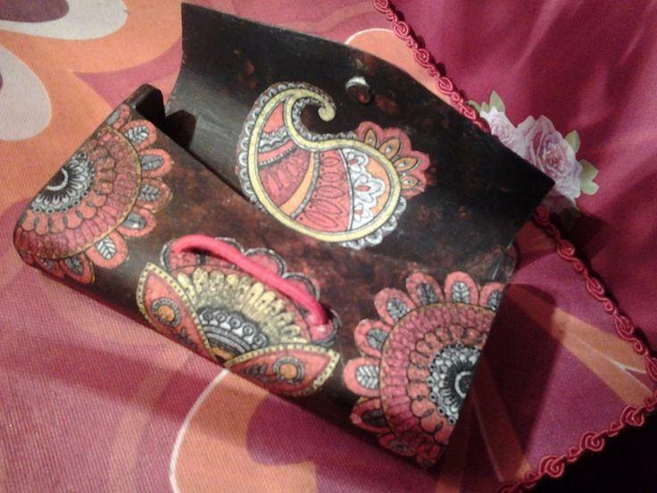 pretty small clutch bag made by Erifili