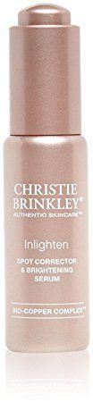 Christie Brinkley Enlighten Spot Corrector  Brightening Serum 09 Ounce >>> You can find out more details at the link of the image.