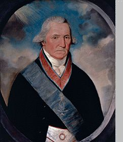 George Washington  William Joseph Williams (1759-1823) Pastel on paper, 1794 71.1 x 55.8 cm (28 x 22 in.) Alexandria-Washington Masonic Lodge No. 22 Ancient, Free, and Accepted Masons,  Alexandria, Virginia Image courtesy Alexandria-Washington Masonic Lodge No. 2