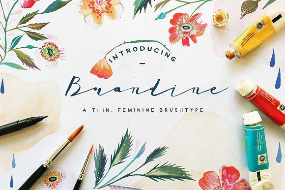 Brandine by KlapauciusCo on @creativemarket
