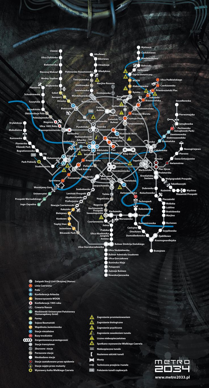 Metro 2034 plano