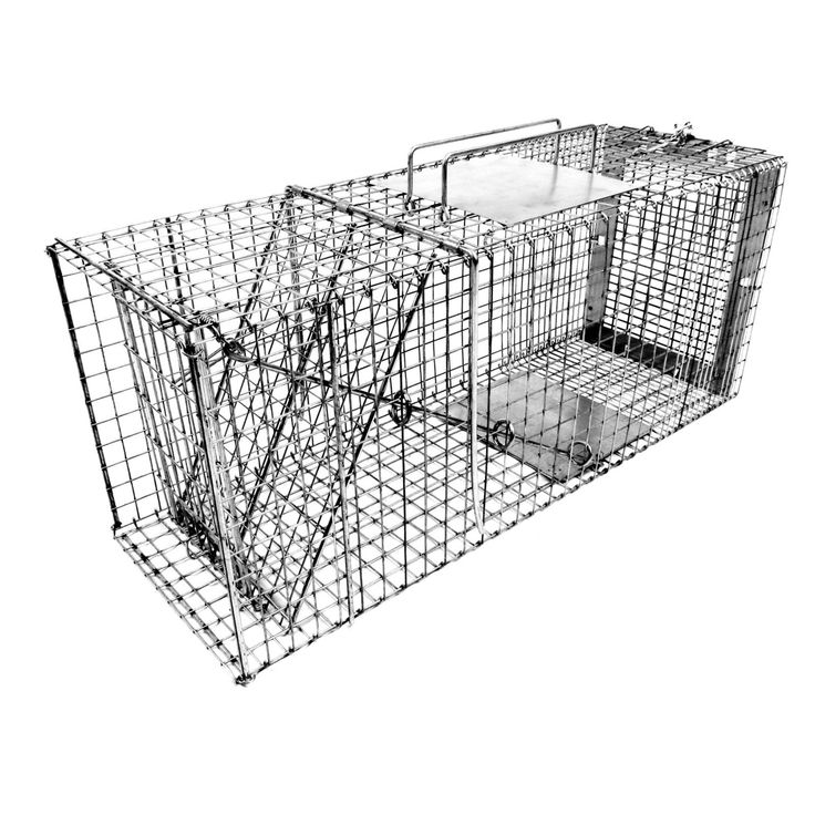 Tomahawk Live Trap Collapsible Neighborhood Cat Trap - 206NC