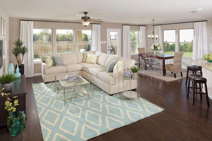 New Homes in Balch Springs, TX - Estates at Spring Ridge Plan 2806 Great Room