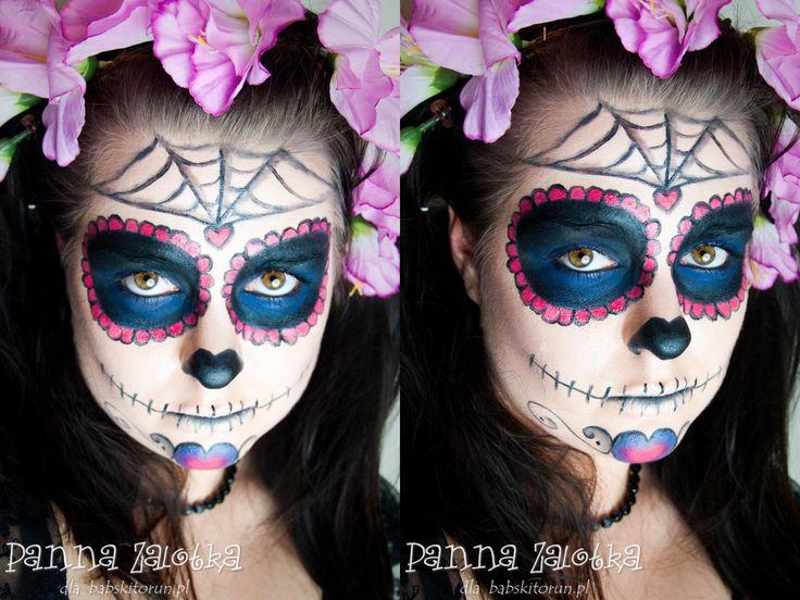 makijaż na Halloween: Sugar Skull - Halloween makeup