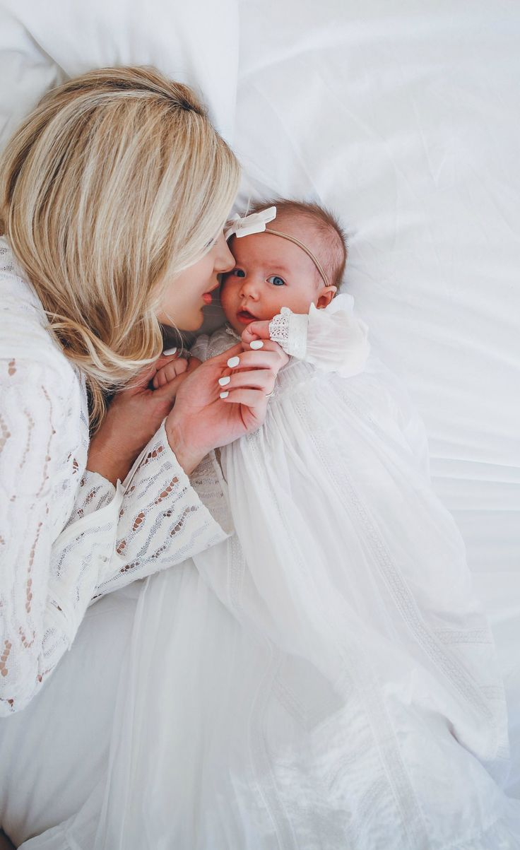 There is no stronger connection than one between a mother and daughter. I can't wait to be a mother someday. This picture is so touching and it makes me excited to see what the future holds, to find a loving husband and have beautiful children too!