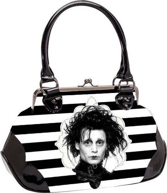 Rock Rebel - Edward Damask Handbag - Buy Online Australia Beserk