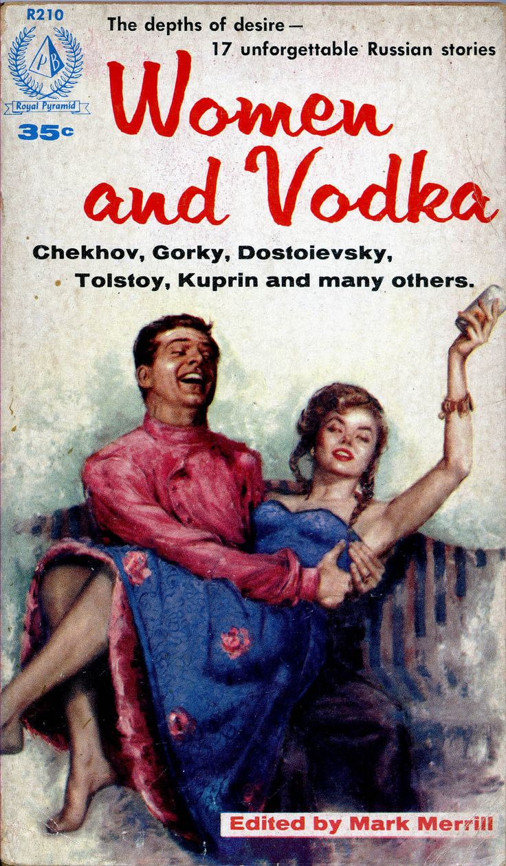 17 unforgettable Russian stories about women & vodka by the likes of Tolstoy, Chekhov, and more