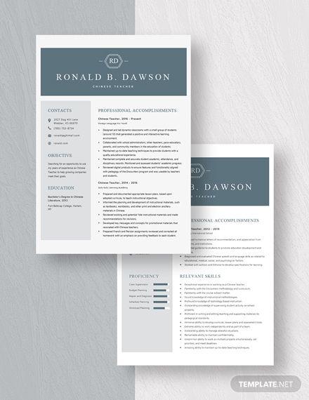 chinese teacher resume template  ad     ad   teacher   chinese   template   resume