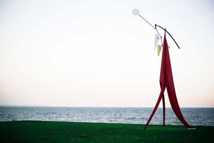Calder mobile in coastal Denmark