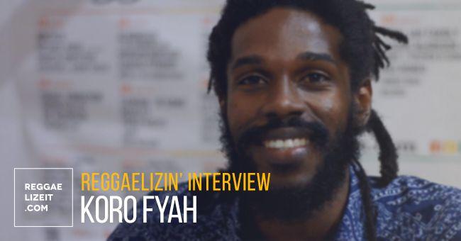 INTERVIEW: Koro Fyah @ Rototom Sunsplash 2016  #BebbleRock #EyesRed #interview #KoroFyah #KoroFyah #KoroFyahinterview #LilaIke #ReggaelizinInterviews #rototom2016 #RototomSunsplash2016 #RoughDiamond