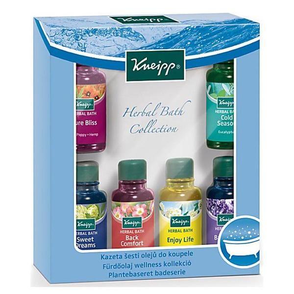 Kneipp Herbal Bath Collection 6x 20ml Herbalism Herbal Oil Pine Essential Oil