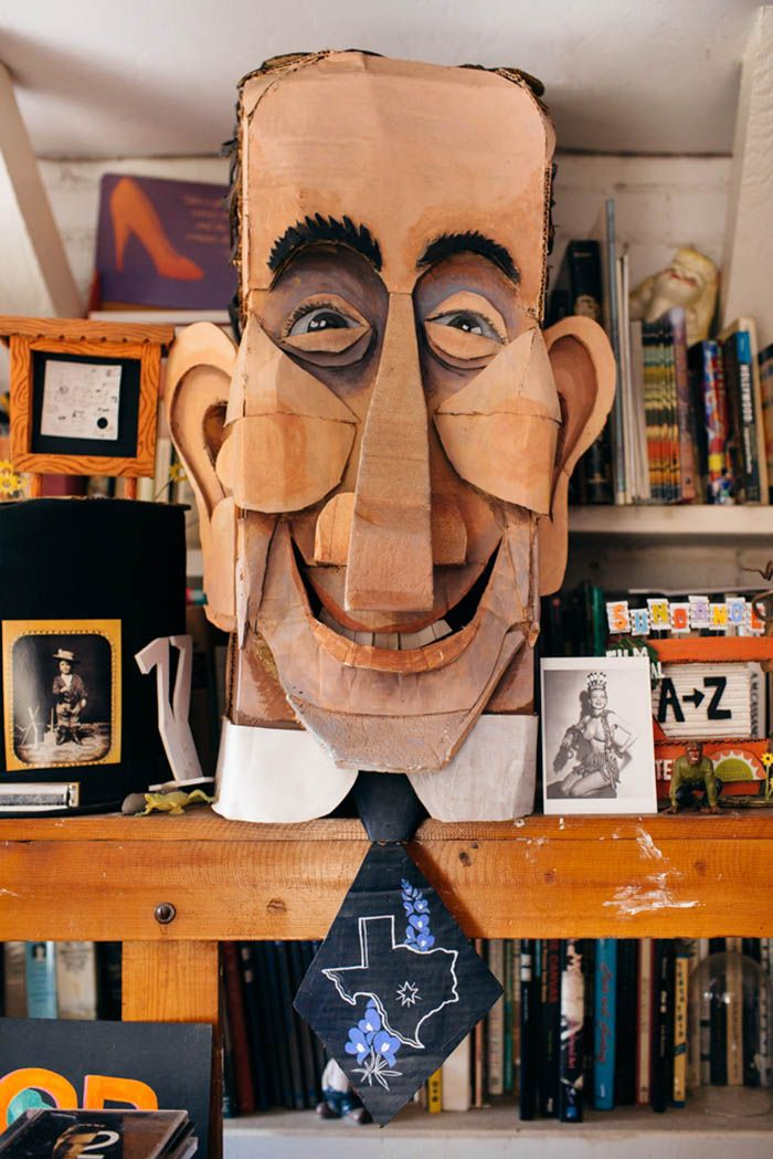 Mimi Pond + Wayne White's Creative Los Angeles Home | Design*Sponge
