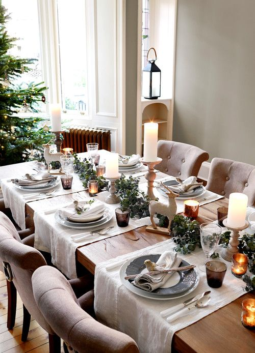 Christmas Table Setting Ideas Christmas Dining Table Christmas
