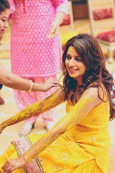 Image result for haldi celebration