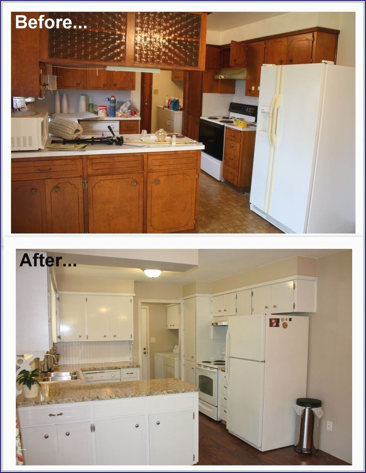 Kitchen Makeover Before And After On A Budget Kitchen Cabinets Makeover Diy Kitchen Cabinets Makeover Kitchen Diy Makeover