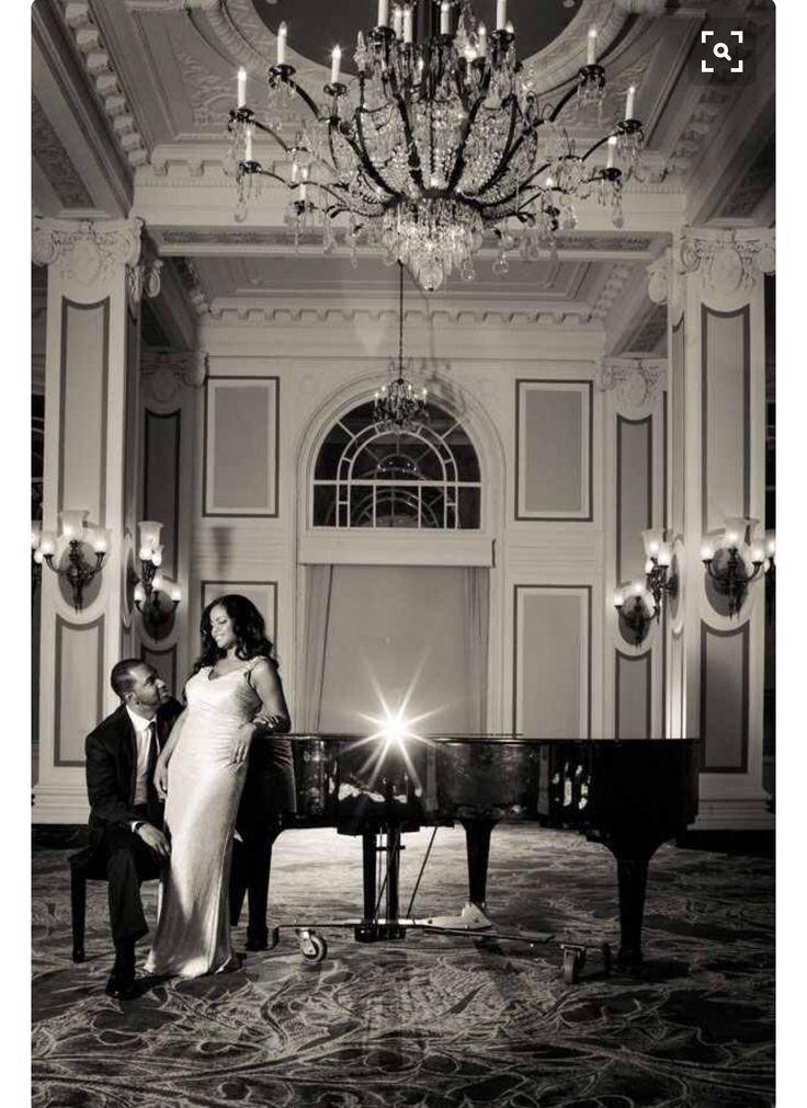Like the idea of a grand piano photo and the elegant setting