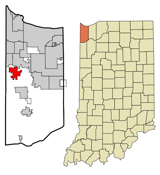 File:Lake County Indiana Incorporated and Unincorporated areas St. John Highlighted.svg