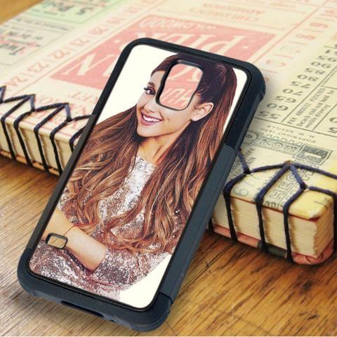 Ariana Grande Cute Smile Singer Samsung Galaxy S5 Case