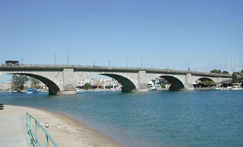 London Bridge, Lake Havasu, Arizona, 2003 - London Bridge (Lake Havasu City) - Wikipedia, the free encyclopedia