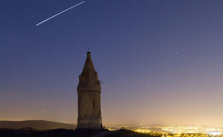 ISS over Hartshead Pike 8/6/2015
