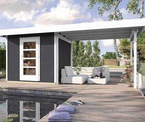 gartenhaus ganz einfach selber bauen garten garten flachdach gartenhaus und gartenhaus. Black Bedroom Furniture Sets. Home Design Ideas
