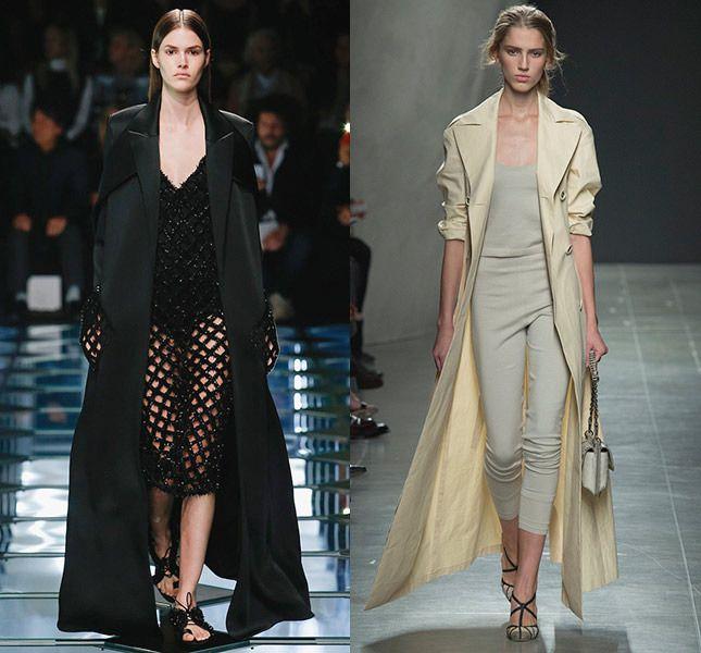 Пальто с запахом Balenciaga, Bottega Veneta