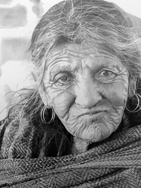 Hyperrealistic drawing by Paul Cadden