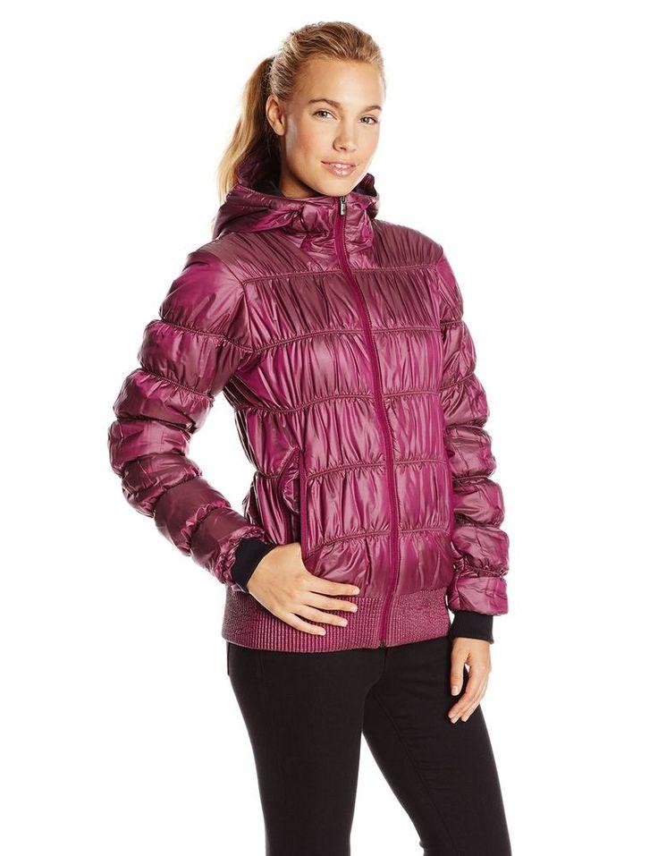 Columbia Sportswear Chelsea Station Dark Raspberry Pink Puffer Jacket XL NEW  | eBay