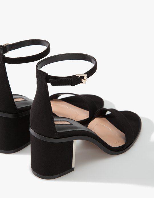 Mid-heel sandals - ALL - Stradivarius Lithuania
