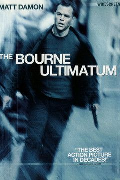 The Bourne Ultimatum!  One of the best set of films made.