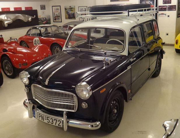 1962 Fiat 1100D Familiare Front